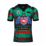 Camiseta South Sydney Rabbitohs Rugby 2016 Superman Vs Batman