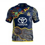 Camiseta North Queensland Cowboys Rugby 2017 Indigenous