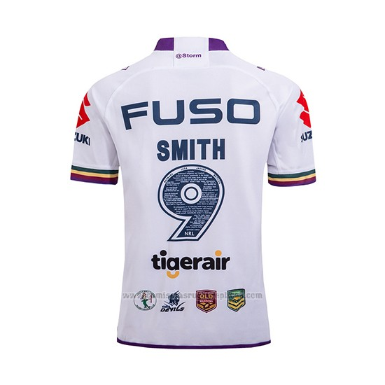 Camiseta Melbourne Storm Rugby 2018 Commemorative