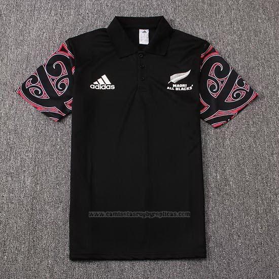 43ca57749592d Camiseta Nueva Zelandia All Blacks Maori Rugby 2019 Negro