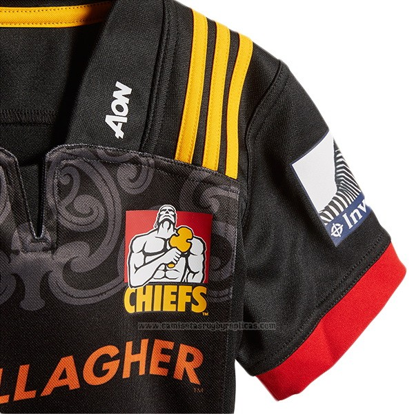 Camiseta Ninos Kit Chiefs Rugby 2018 Local